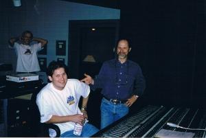 Scott and Eddie Kramer recording Dark Of The Night