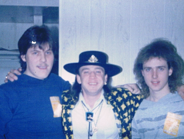 Stevie, Doug & me